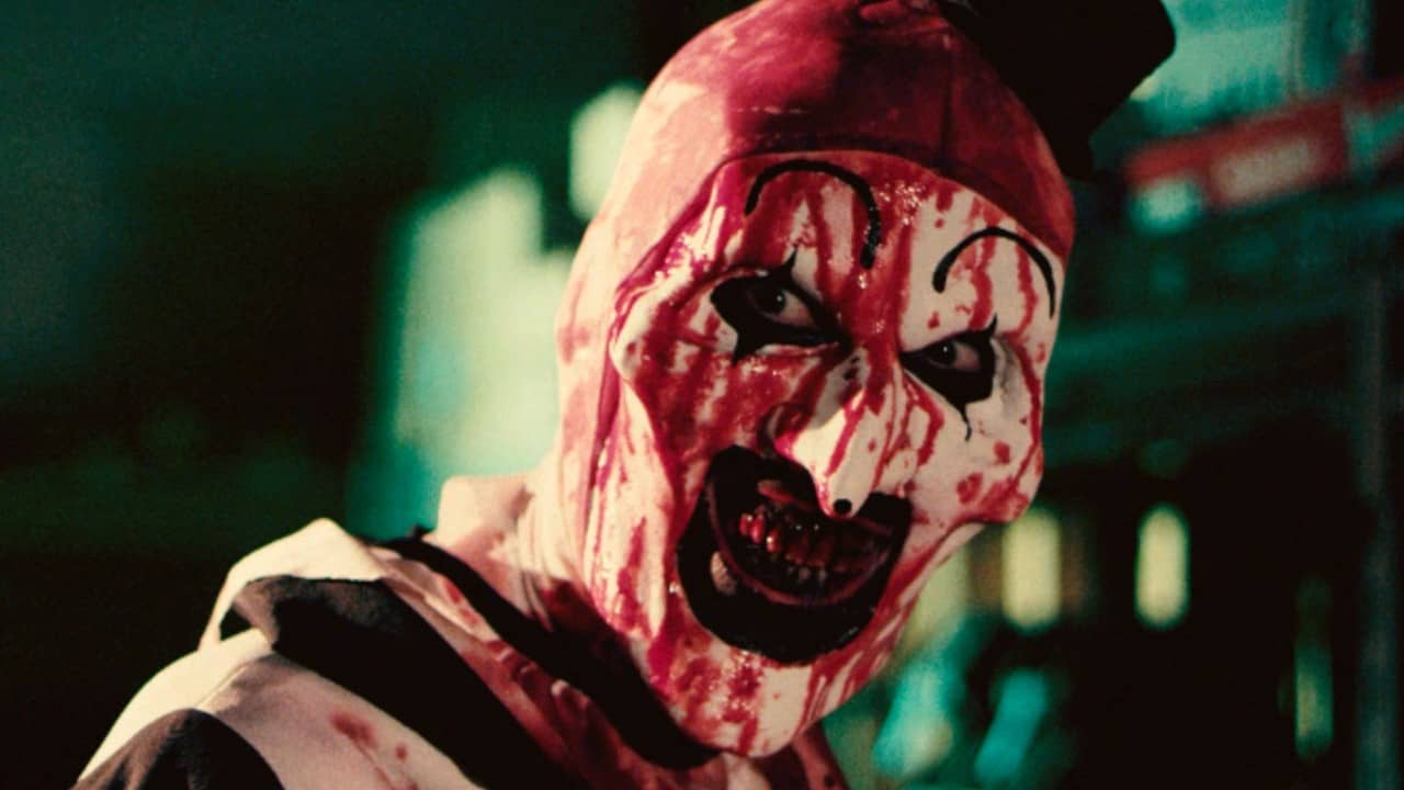 Terrifier Banner - Horror is for Lovers & Our Valentine's Day Sale is To Die For!