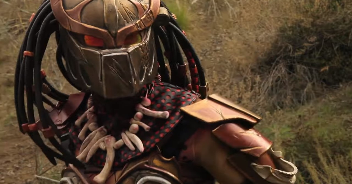 Warrior Predator Banner - Video: Fierce Females Face-Off in Fan Film WARRIOR: PREDATOR