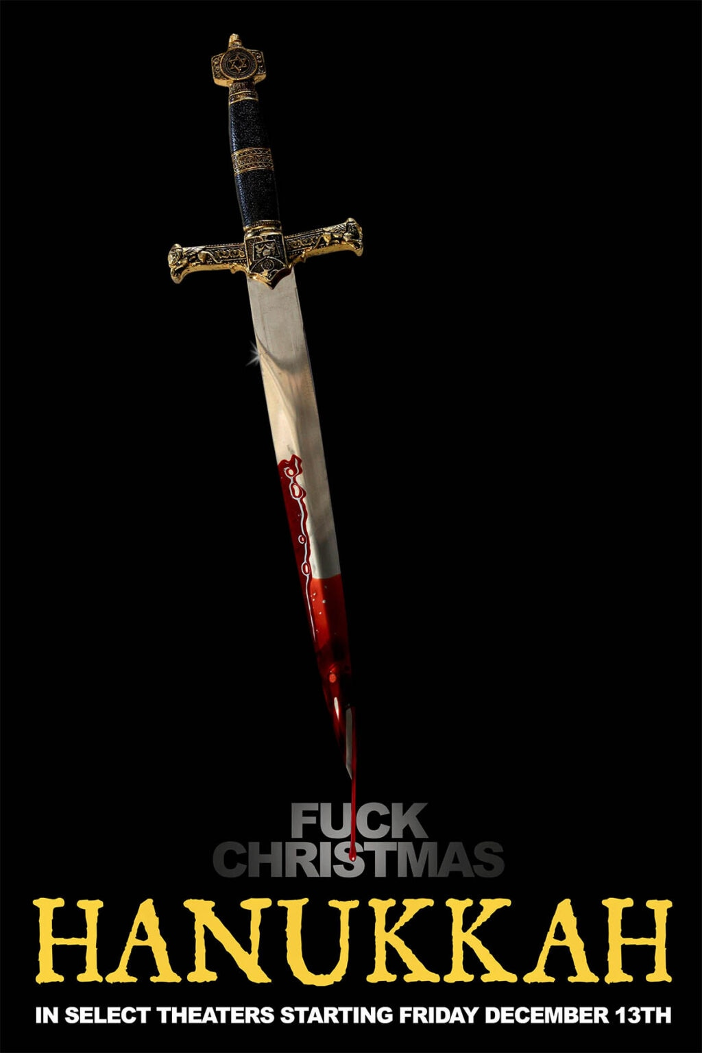 hanukkah 2019 poster 1024x1536 - F*CK Christmas! New Trailer & Poster for Sid Haig Holiday Horror HANUKKAH in Theaters 12/13