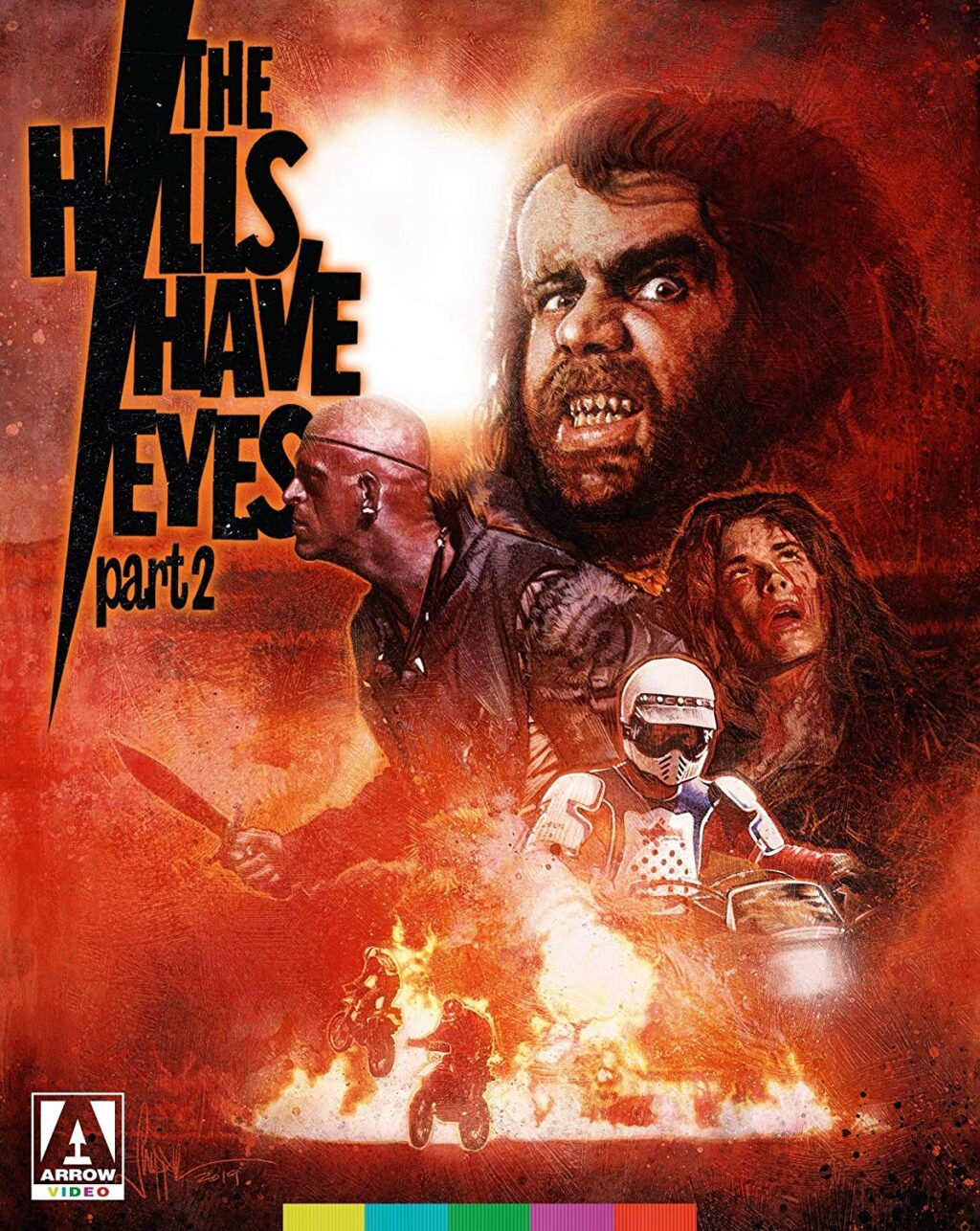 hills have eyes part 2 blu 1024x1286 - THE HILLS HAVE EYES PART II Blu-ray Review - Still As Bad As You Remember It