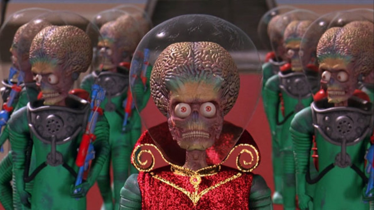 mars attacks was the disaster movie that ravaged disaster movies 1479668255 - This Day in Horror: MARS ATTACKS! Invades Theaters