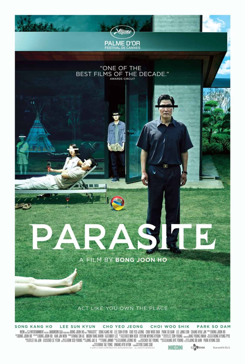parasite movie poster 1024x1517 - Bong Joon Ho's PARASITE & MEMORIES OF MURDER to Join Criterion Collection