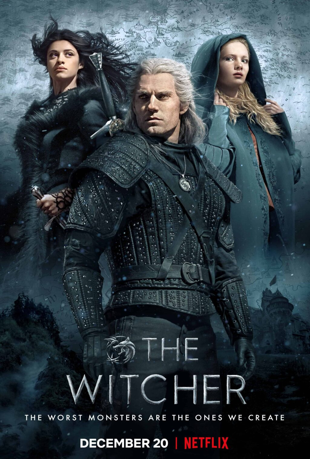 """the witcher poster 1 1024x1517 - THE WITCHER Season 2 Will Be """"Much More Focused"""""""
