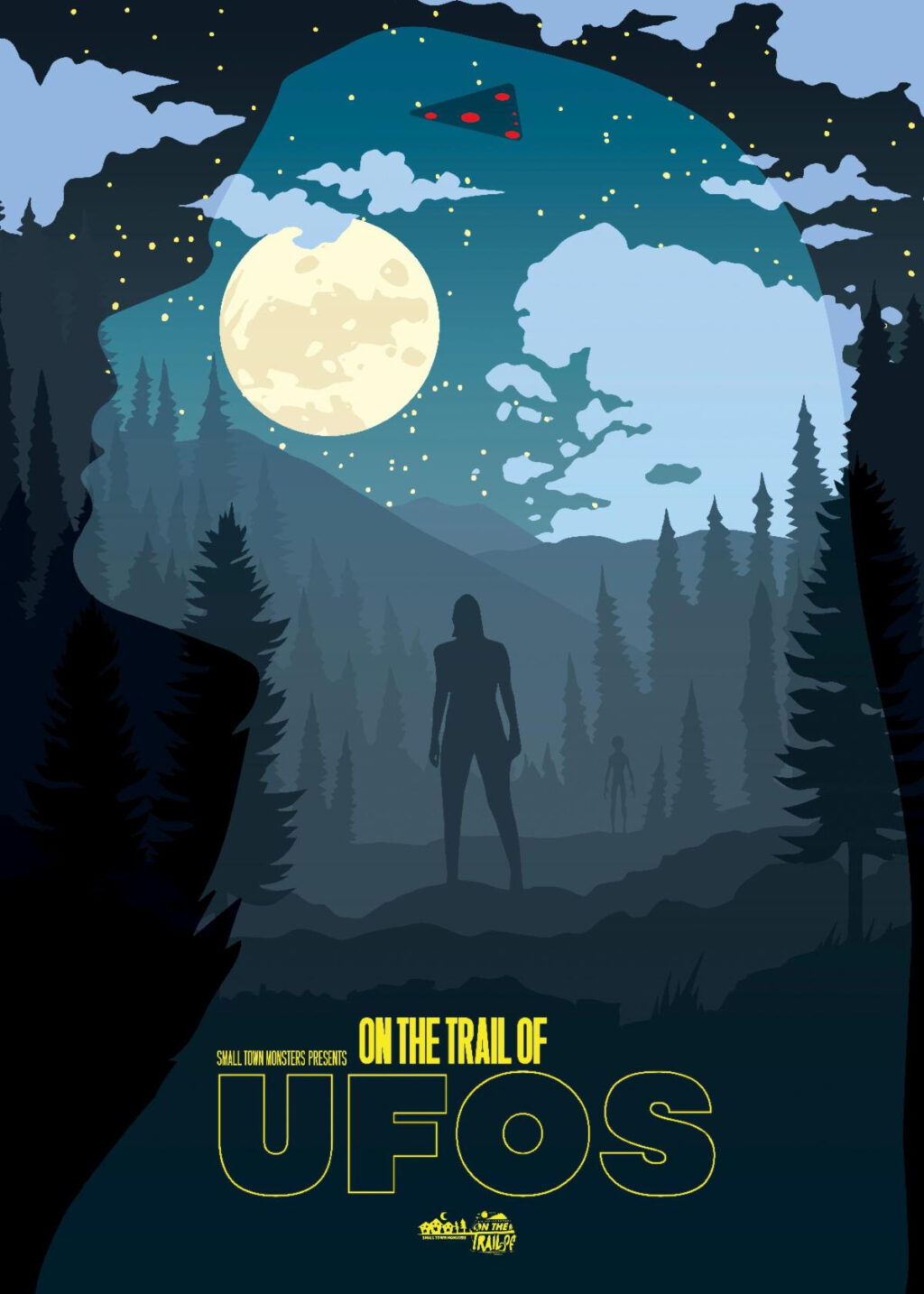 unnamed 1 2 1024x1434 - Trailer: Small Town Monsters Looks To the Stars in New Miniseries ON THE TRAIL OF UFOs