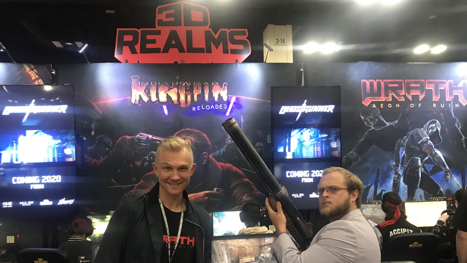 3d realms 2 - [PAX SOUTH] 3D REALMS ON GHOSTRUNNER, KINGPIN RELOADED, AND THE MODERN OLD SCHOOL