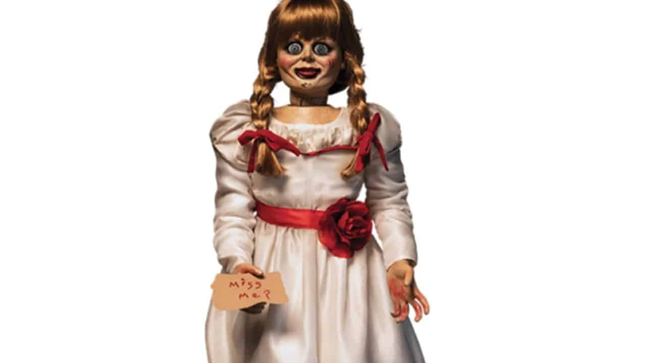 "Annabelle Doll - Life-Sized Annabelle Doll ""Comes Home"" from WB Shop"