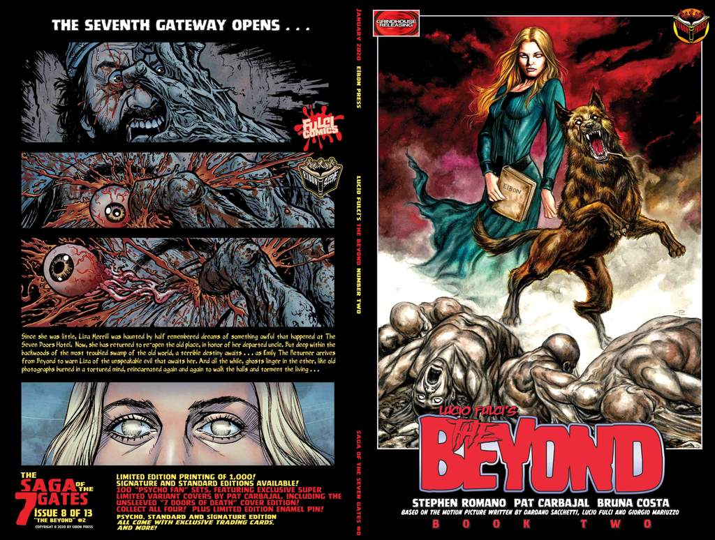 BEYOND 2 FULL SLEEVE min 1024x1024 - THE BEYOND Issue #2 Goes On Sale This Friday, January 24th