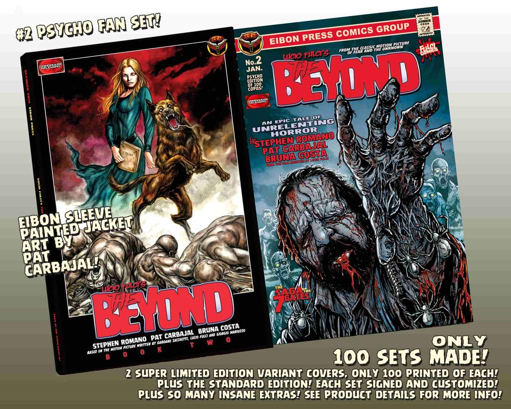 BEYOND 2 PSYCHO FAN SET min 1024x1024 - THE BEYOND Issue #2 Goes On Sale This Friday, January 24th