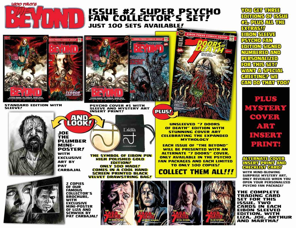 BEYOND 2 PSYCHO FAN SET AD Corrected  min 1024x1024 - THE BEYOND Issue #2 Goes On Sale This Friday, January 24th