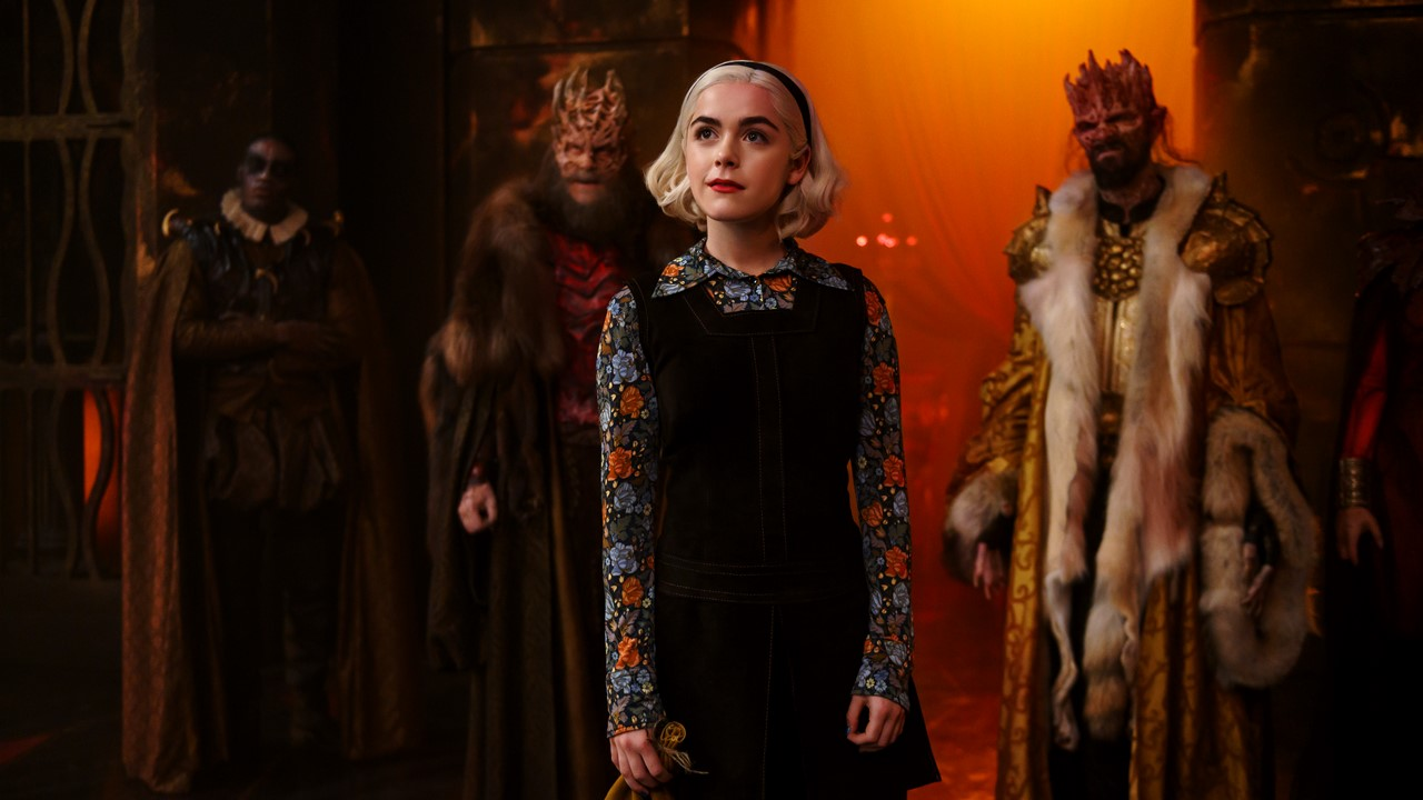 Chilling Adventures of Sabrina Part 3 Banner - Hell is Under New Management in Latest Trailer for CHILLING ADVENTURES OF SABRINA Part 3