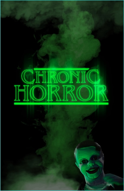 Chronic Horror Poster - True Story of Body Found at Cobb Estate, Recently Featured on CHRONIC HORROR