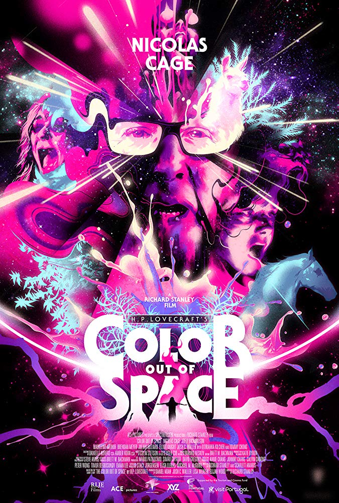 Color Out of Space Poster - Listen Now: Mr. H Narrates THE COLOUR OUT OF SPACE By H.P Lovecraft Audiobook