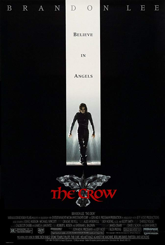 Crow Poster - THE CROW Reboot Back in Production? Video Explores Film's Turbulent Legacy