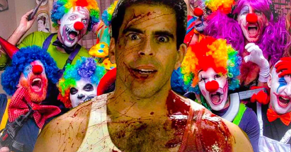 Eli Roths CLOWNPOCALYPSE Will Be 360 Degree Horror Project - Eli Roth's CLOWNPOCALYPSE Will Be 360-Degree Horror Project