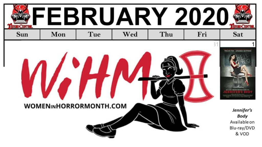 """Feb 2020 Template week 1 1024x576 - Our """"Year of Dread 2020"""" Horror Challenge Continues with a Month of Fierce Female Filmmakers!"""