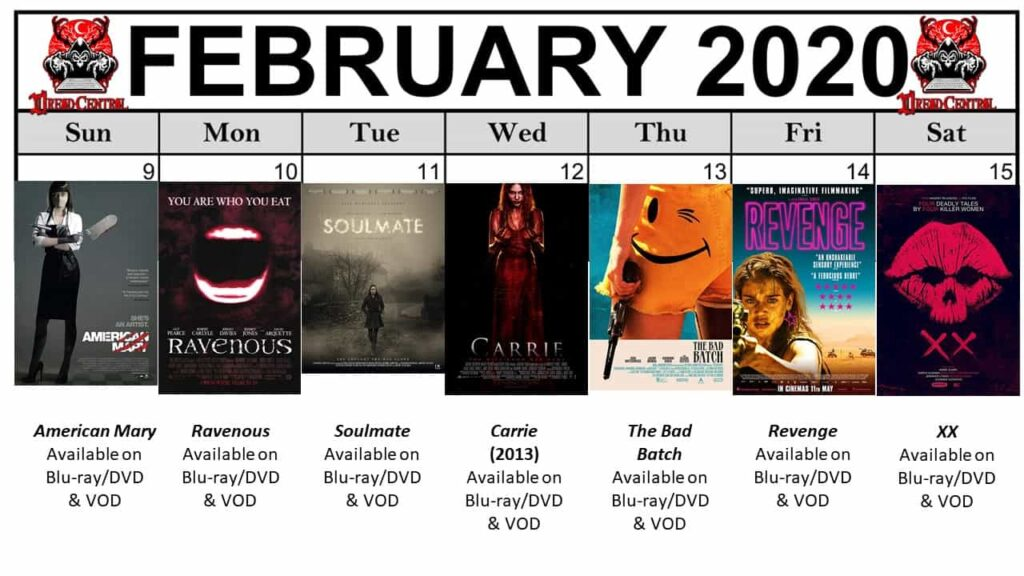 """Feb 2020 Template week 3 1024x576 - Our """"Year of Dread 2020"""" Horror Challenge Continues with a Month of Fierce Female Filmmakers!"""