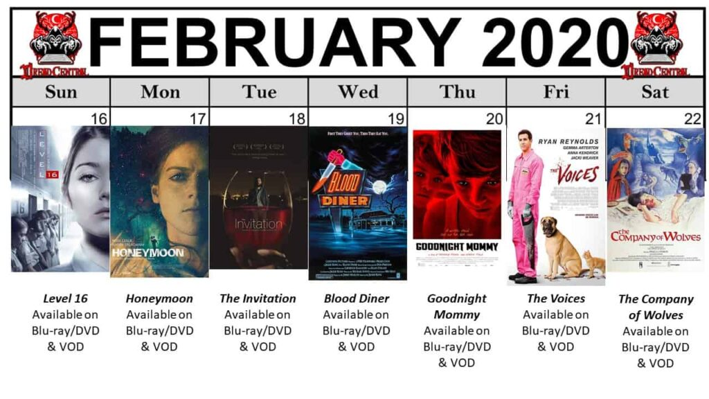 """Feb 2020 Template week 4 1024x576 - Our """"Year of Dread 2020"""" Horror Challenge Continues with a Month of Fierce Female Filmmakers!"""