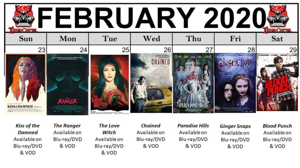 """Feb 2020 Template week 5 1024x576 - Our """"Year of Dread 2020"""" Horror Challenge Continues with a Month of Fierce Female Filmmakers!"""