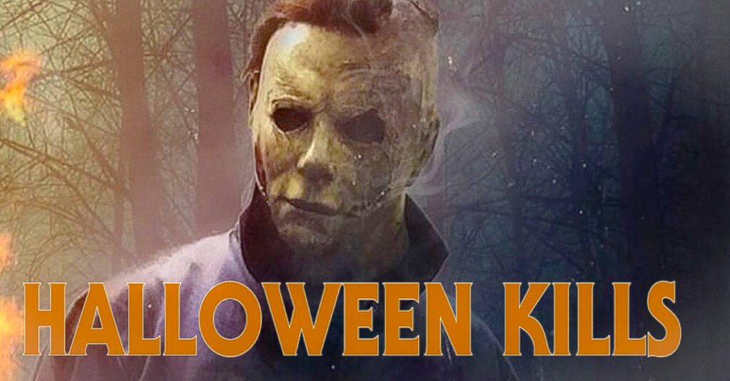 First HALLOWEEN KILLS Test Screening Tonight 1024x535 - Latest Image from HALLOWEEN KILLS is a Firey Picture of Michael Myers!