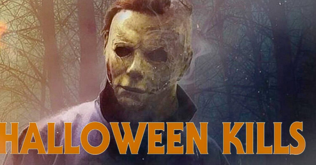 First HALLOWEEN KILLS Test Screening Tonight 750x422 - Michael Myers Strikes Familiar Pose in Latest Image from HALLOWEEN KILLS