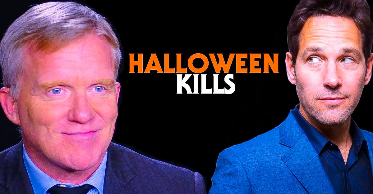 HALLOWEEN KILLS Paul Rudd Gave Anthony Michael Hall His Blessing - HALLOWEEN KILLS: Paul Rudd Gave Anthony Michael Hall His Blessing