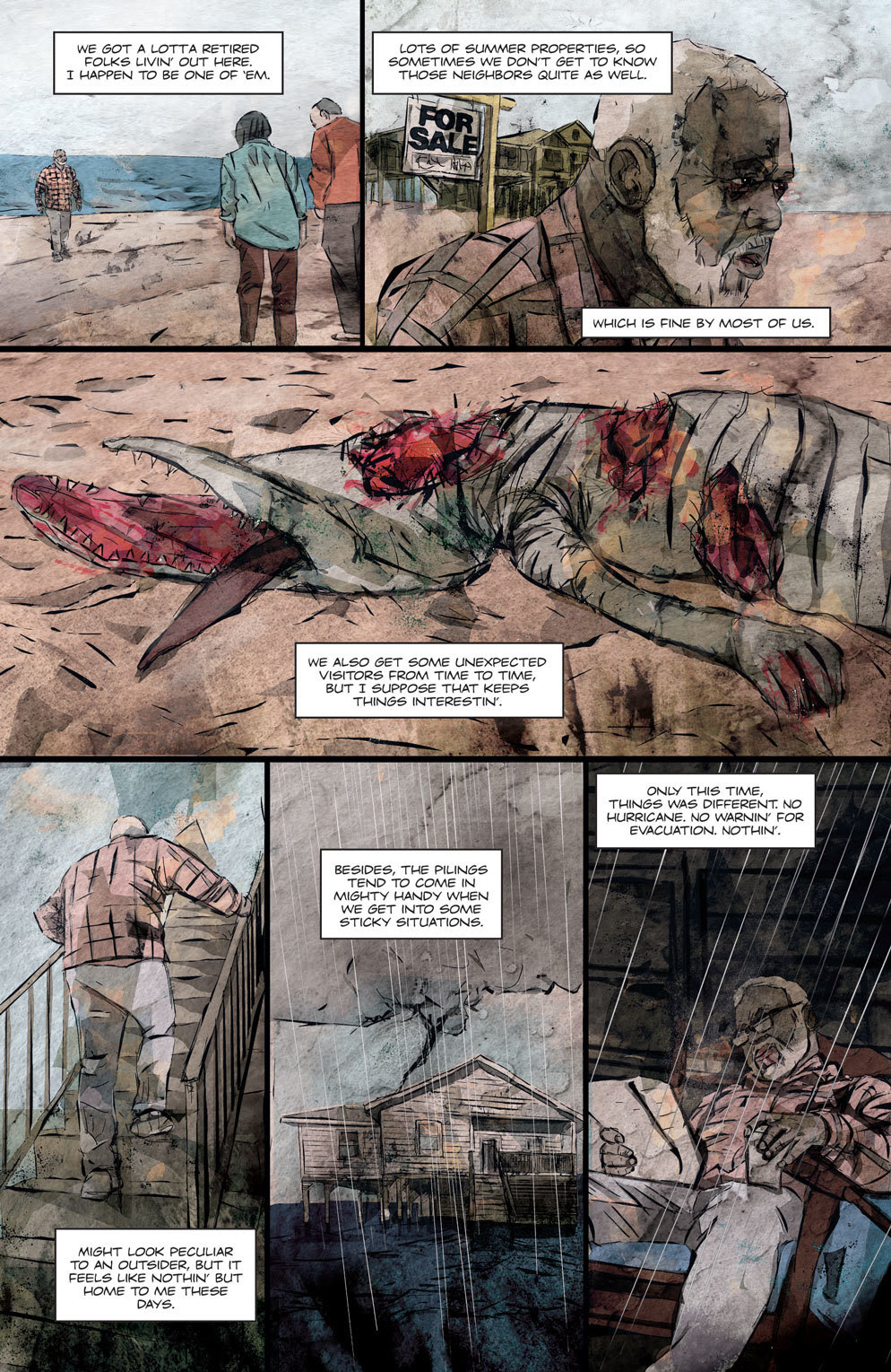 Hag 3 - Official Preview Pages from HAG #1 from American Gothic Press