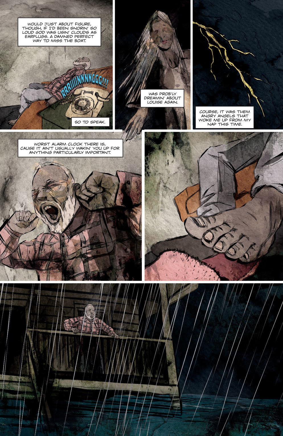 Hag 4 - Official Preview Pages from HAG #1 from American Gothic Press