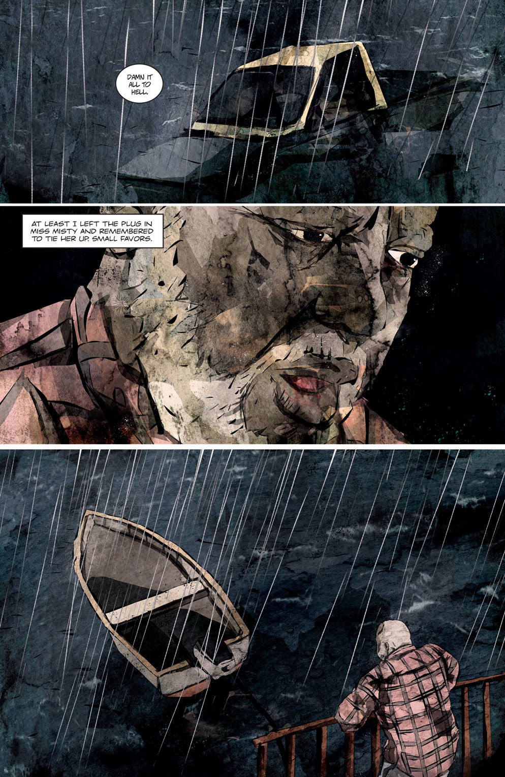 Hag 5 - Official Preview Pages from HAG #1 from American Gothic Press