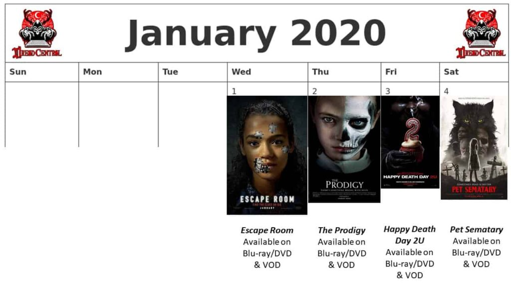 """January 2020 Week 1 1024x576 - We're Launching """"YEAR OF DREAD 2020"""": A 366-Day Horror Movie Challenge!"""