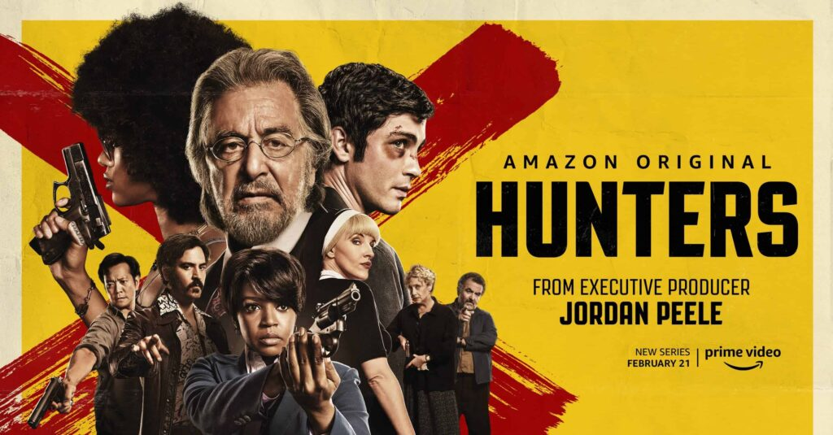 Jordan Peeles HUNTERS 1024x535 - Trailer: Pacino caça nazistas por Jordan Peele em HUNTERS