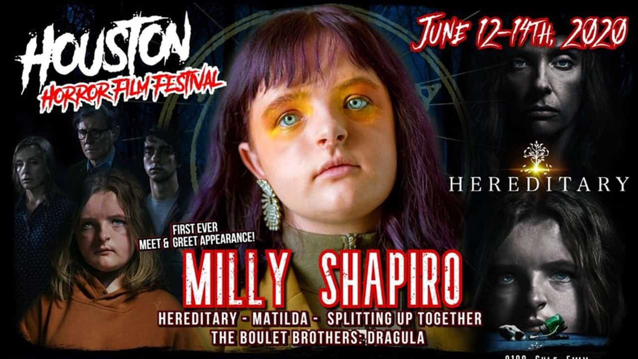Milly Shapiro 2 - HEREDITARY Star MILLY SHAPIRO to Make 1st Horror Convention Appearance This Summer
