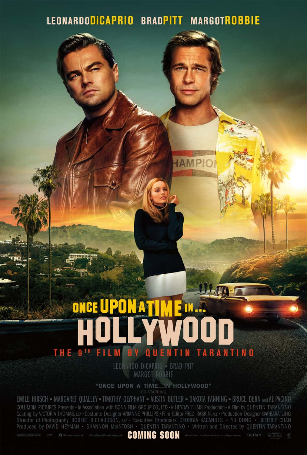 Once Upon a Time in Hollywood Poster 2 - ONCE UPON A TIME IN HOLLYWOOD 4-Hour Cut 'Probably' Coming Next Year