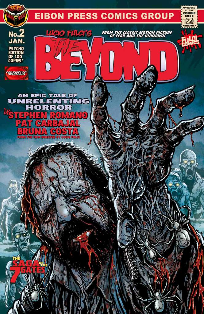 PSYCHO FAN COVER 1 min 1024x1024 - THE BEYOND Issue #2 Goes On Sale This Friday, January 24th