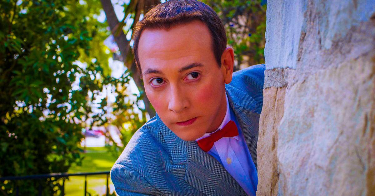Paul Reubens Ready Super Dark PEE WEE HERMAN Reboot - Paul Reubens Pitching Super-Dark PEE-WEE HERMAN Reboot