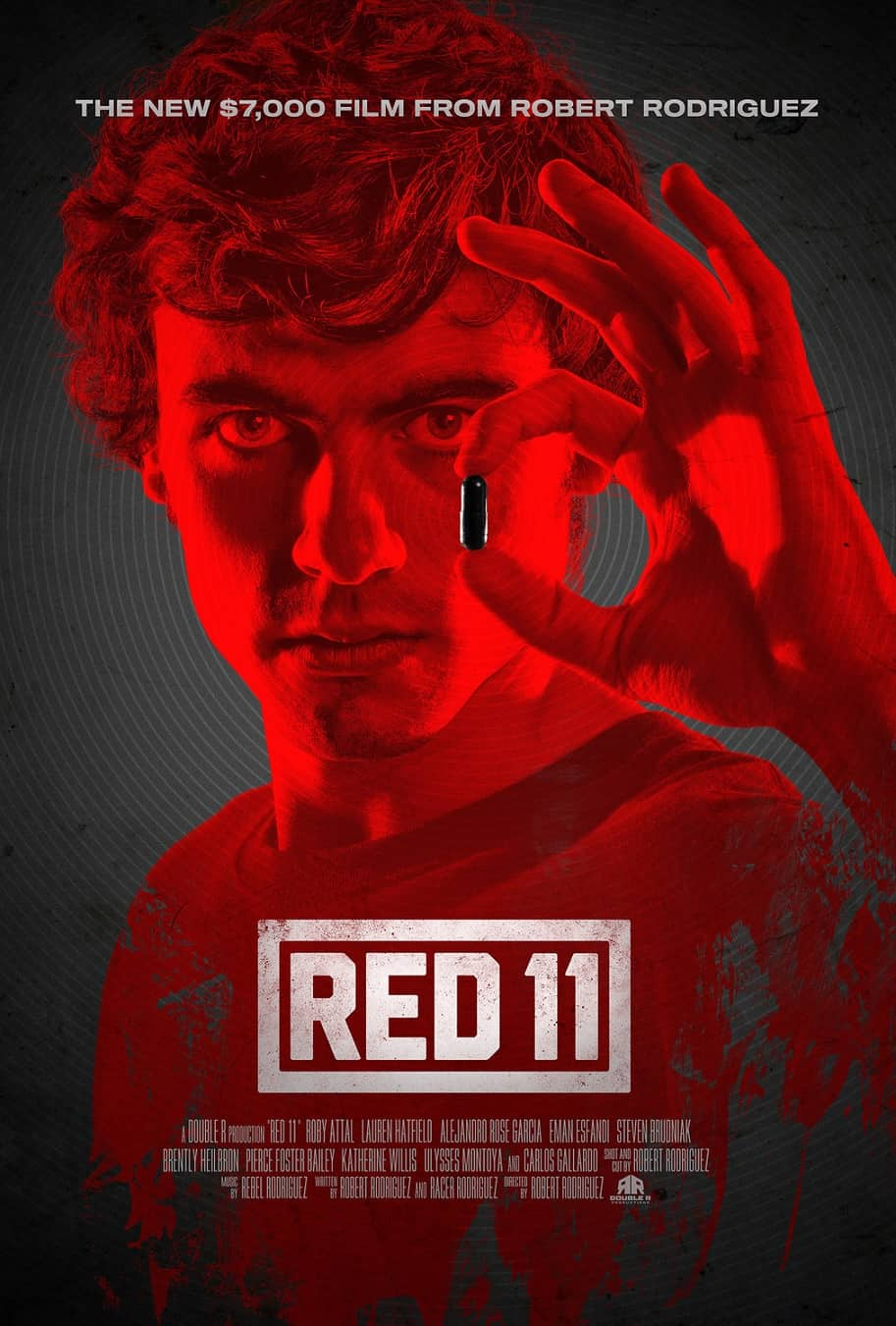Red 11 poster - Robert Rodriguez's RED 11 & FILM SCHOOL Docu-Series Hits Tubi This Summer