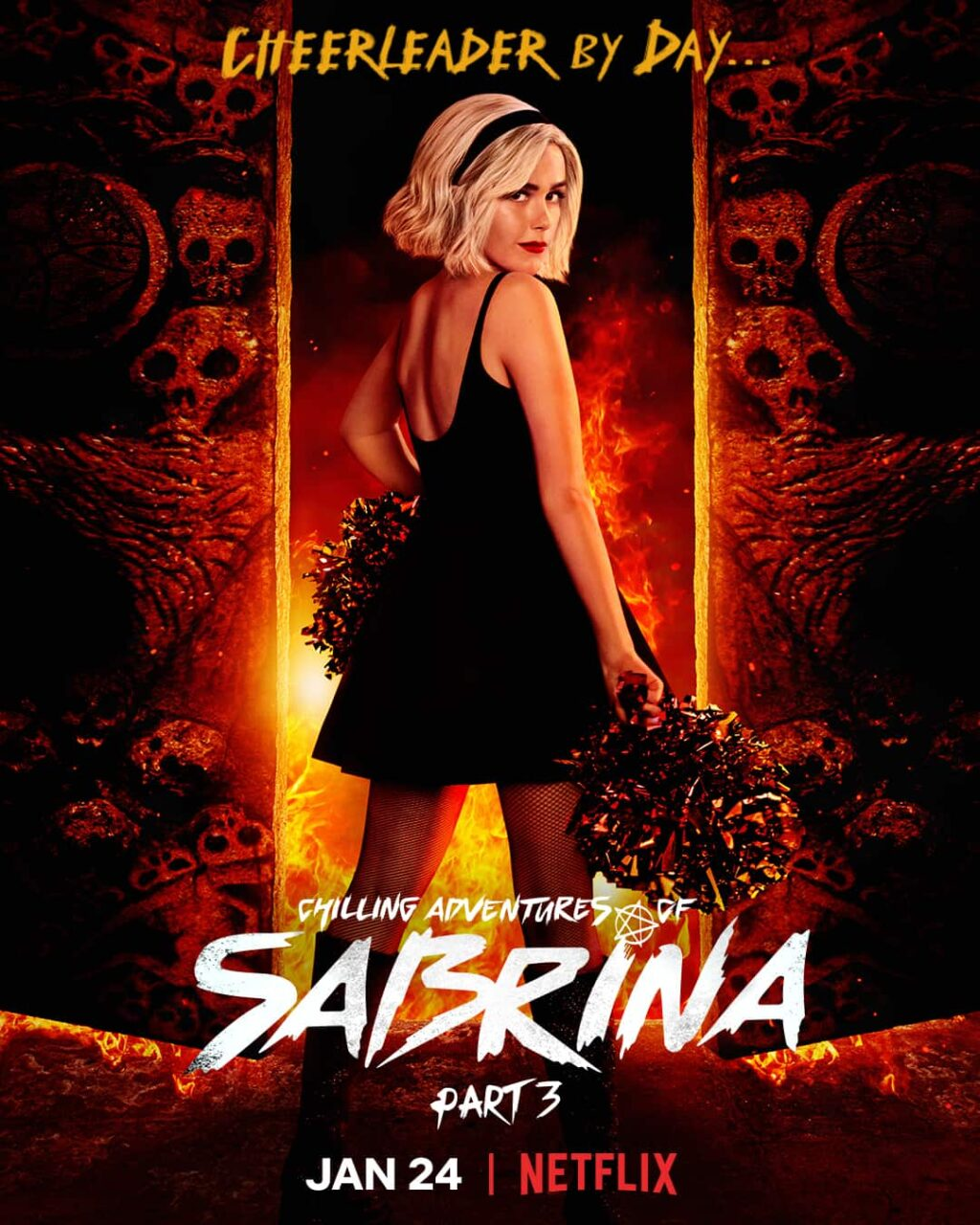 Sabrina 3 Poster 1024x1280 - Trailer: CHILLING ADVENTURES OF SABRINA Part 3 Goes To Hell