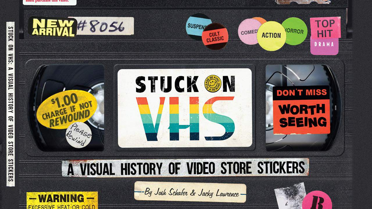 Stuck on VHS Banner - STUCK ON VHS Celebrates VHS culture with Exclusive Book & Events at Alamo Drafthouse