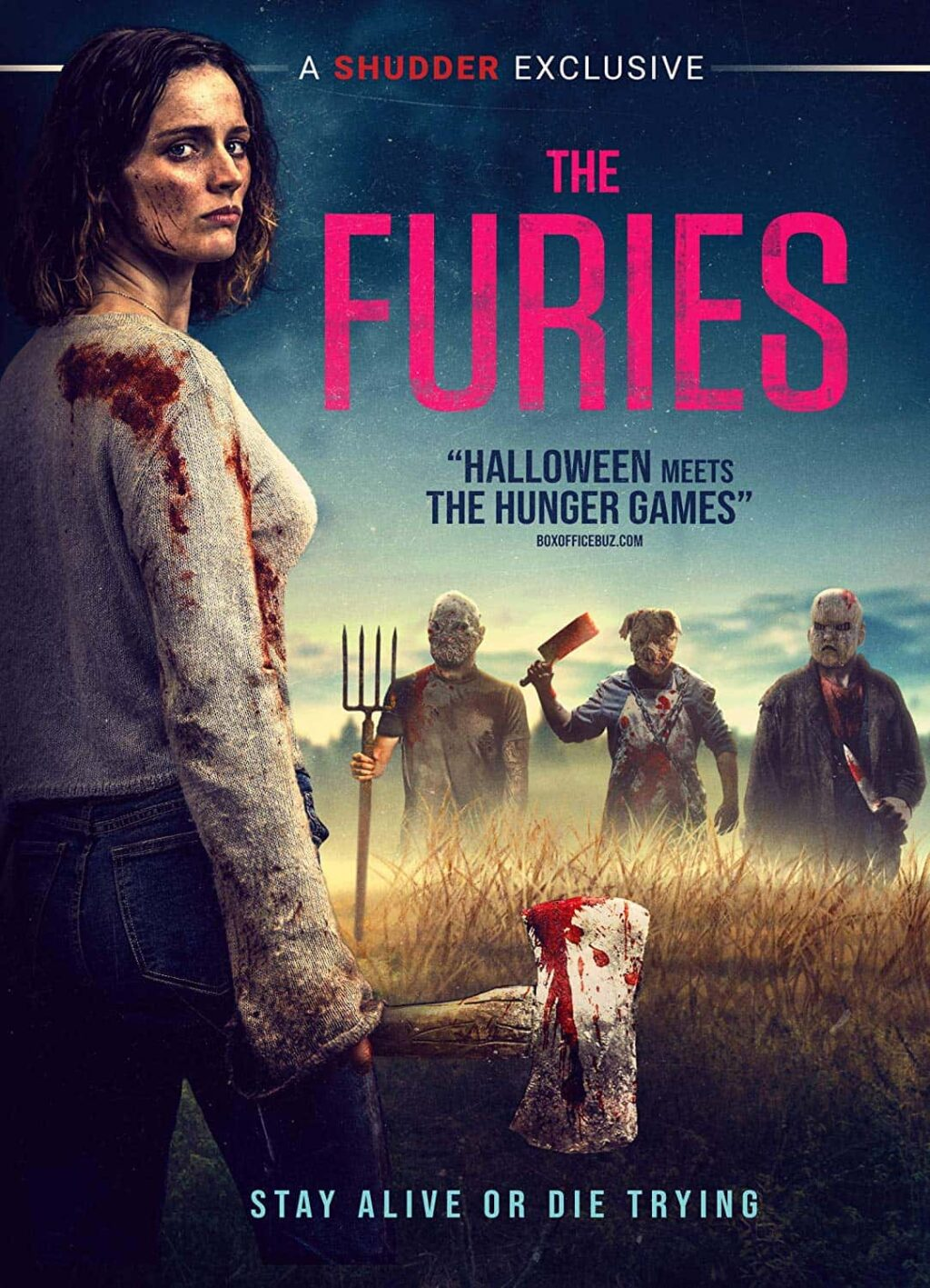 THE FURIES DVD 1024x1417 - HALLOWEEN Meets HUNGER GAMES As THE FURIES Hits DVD in March