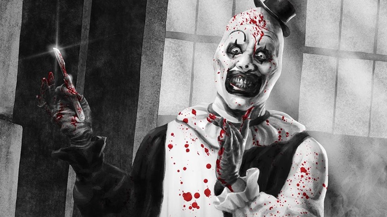 Terrifier Zikos artwork - Broke Horror Fan Releasing New TERRIFIER VHS Variant with Art by Vasilis Zikos