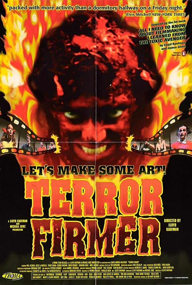Terror Firmer Poster - TERROR FIRMER 20th Anniversary Screening in Austin TX January 14th