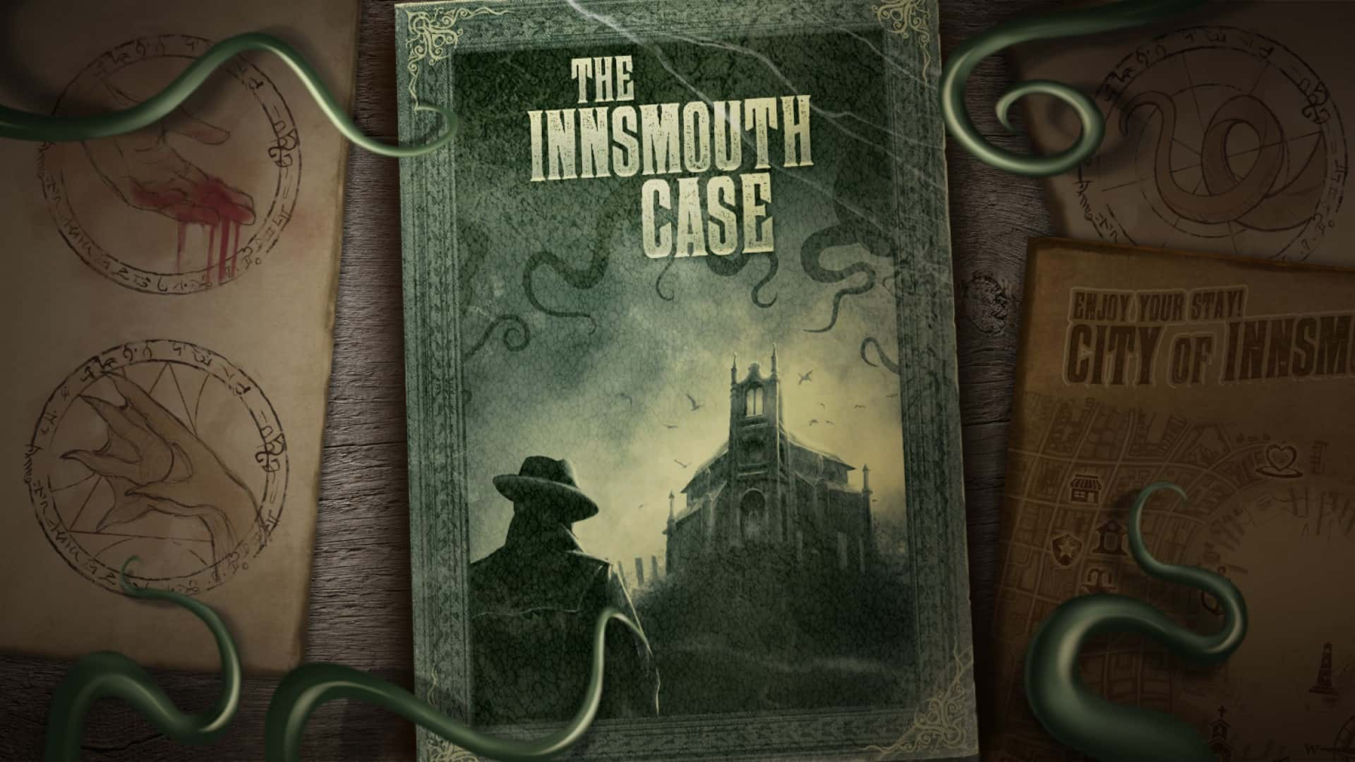 The Innsmouth Case - THE INNSMOUTH CASE BRINGS SPOOPY LOVECRAFTIAN HORROR TO YOU PHONE