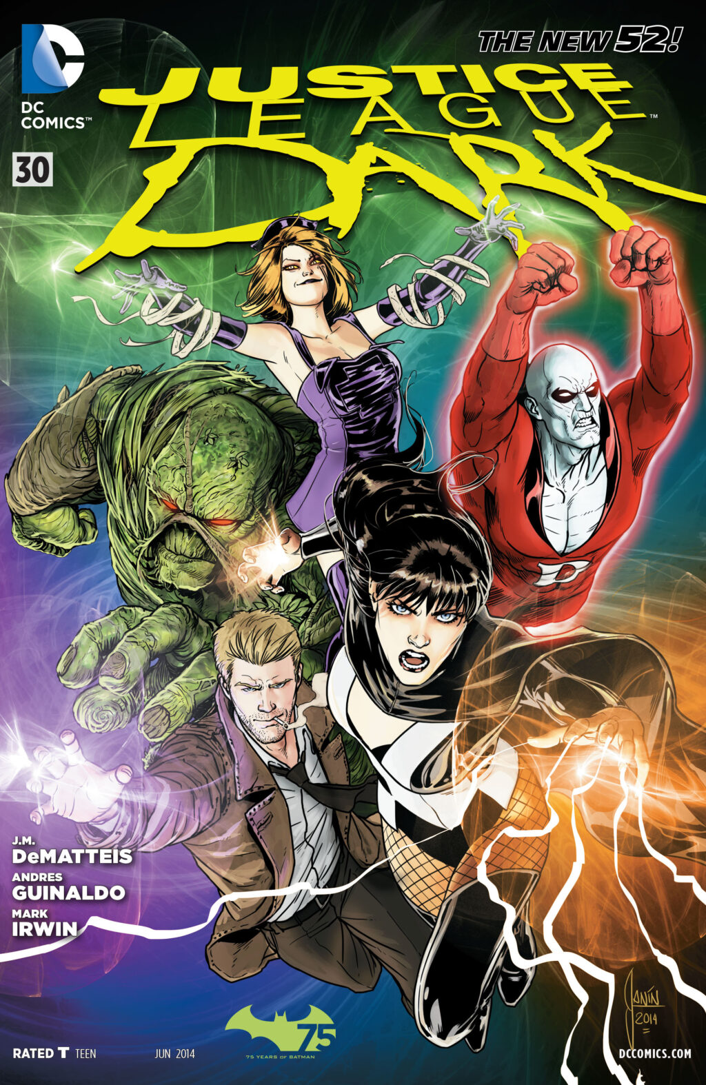 justice league dark cover 1024x1574 - Bad Robot Developing JUSTICE LEAGUE DARK Movie & TV Show!