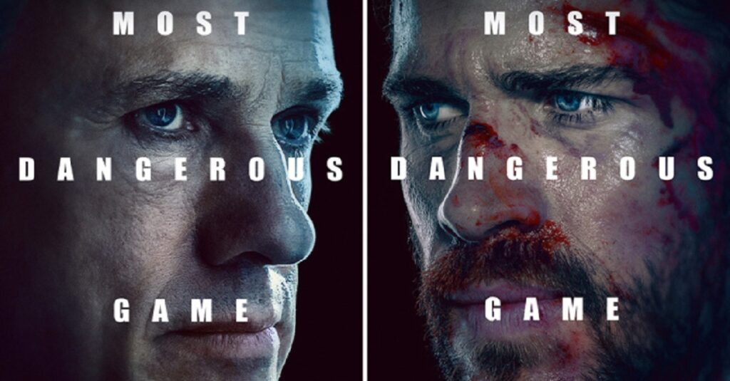 most dangerous game quibi 1024x535 - First Look: Christoph Waltz & Liam Hemsworth Play Quibi's MOST DANGEROUS GAME