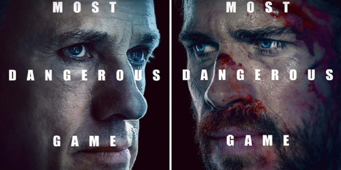 most dangerous game quibi 1100x550 - First Look: Christoph Waltz & Liam Hemsworth Play Quibi's MOST DANGEROUS GAME