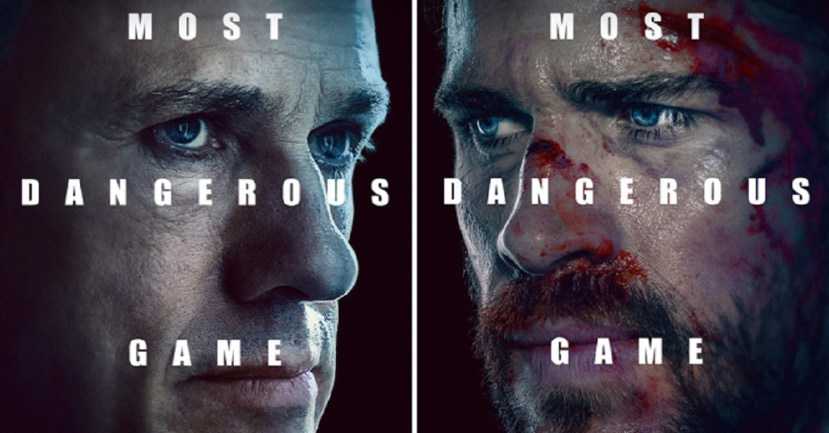 most dangerous game quibi - First Look: Christoph Waltz & Liam Hemsworth Play Quibi's MOST DANGEROUS GAME