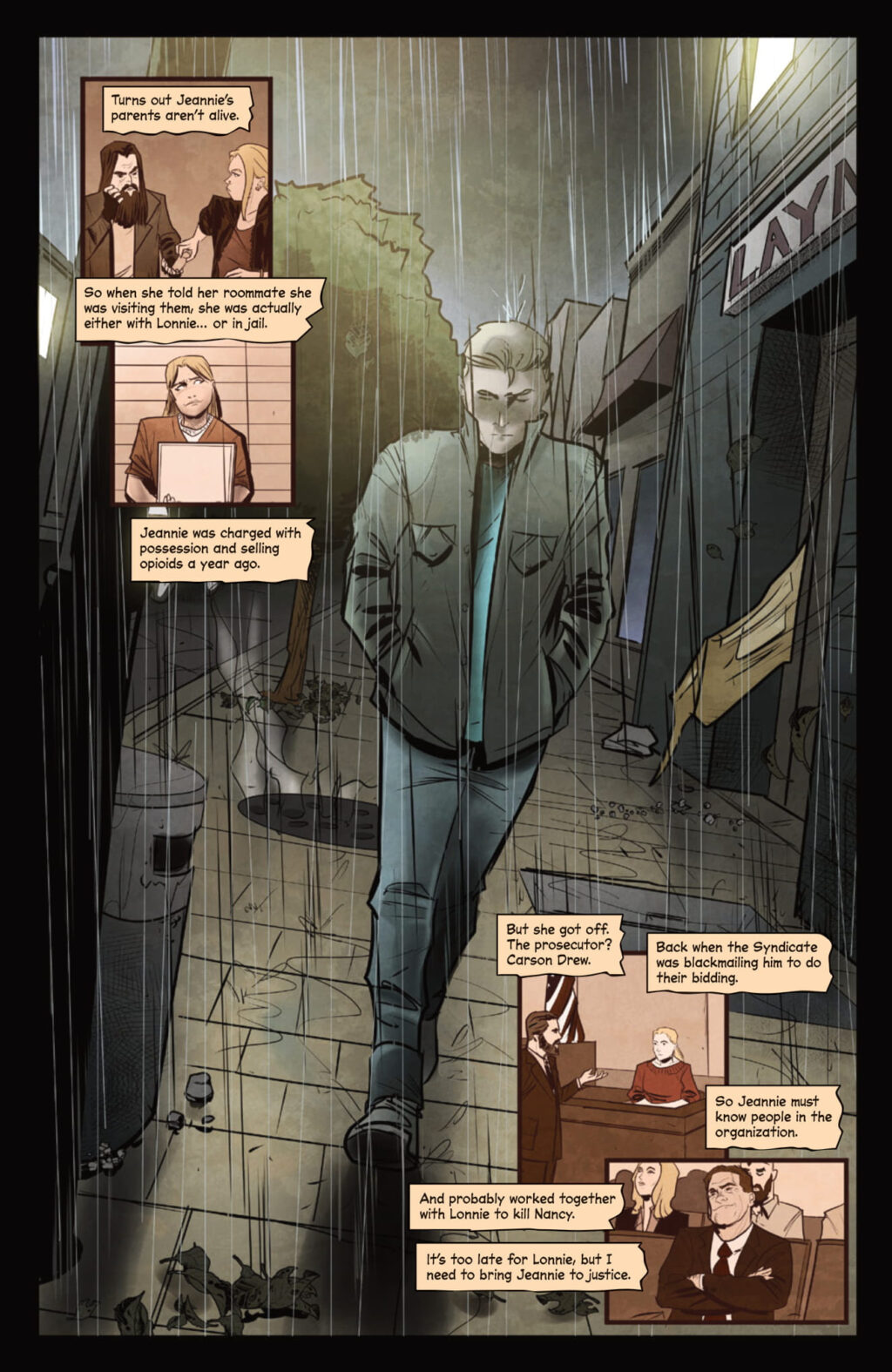 unnamed 10 1 1024x1575 - WHO KILLED NANCY DREW? Noir Comic Features Death of Iconic Teen Detective