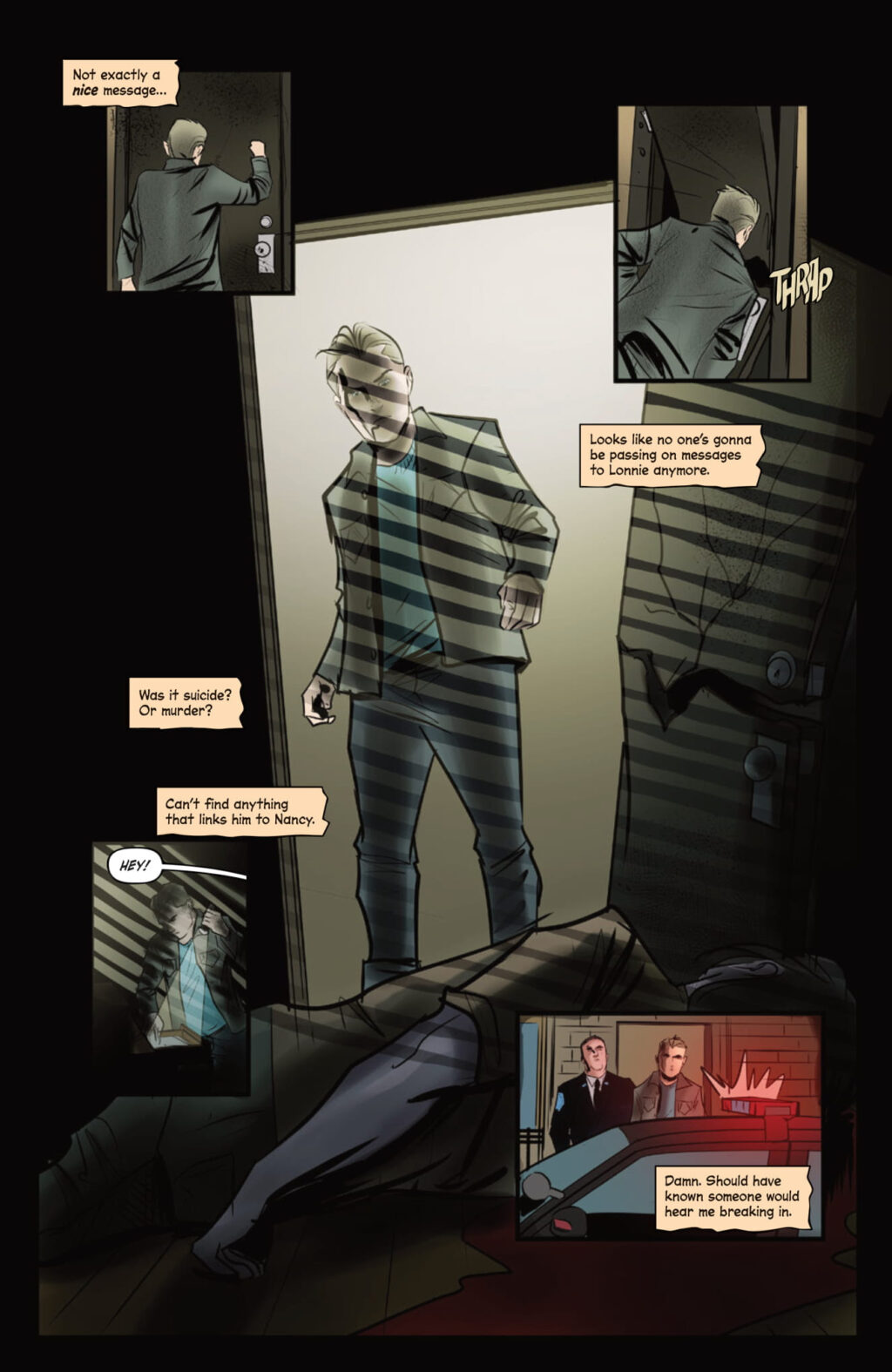 unnamed 8 1024x1575 - WHO KILLED NANCY DREW? Noir Comic Features Death of Iconic Teen Detective