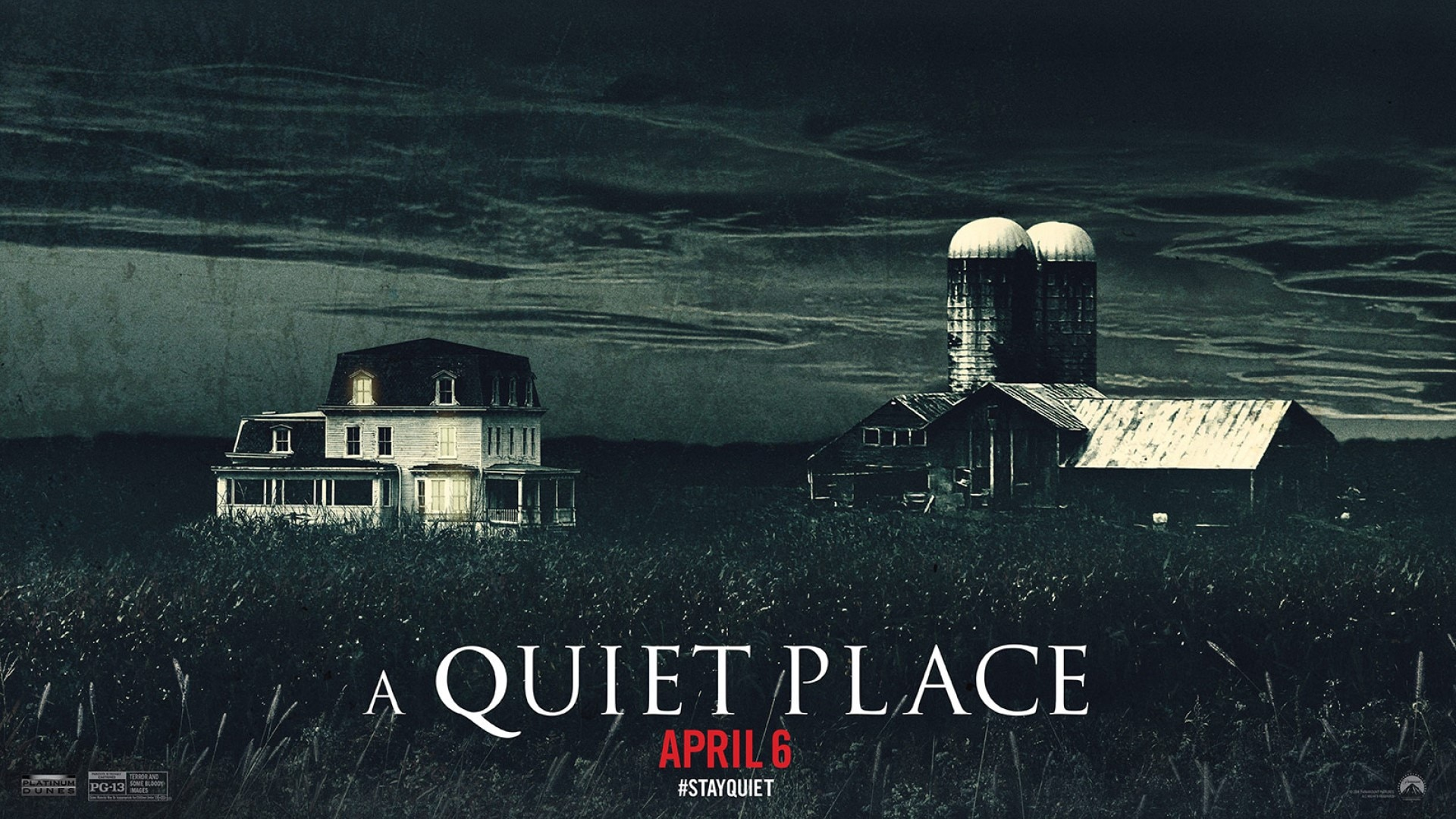 A Queit Place - IT SHOULD BE A GAME- A QUIET PLACE