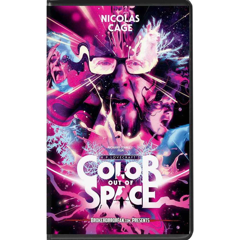 COLOR OUT OF SPACE VHS - COLOR OUT OF SPACE Limited Edition VHS Now Available