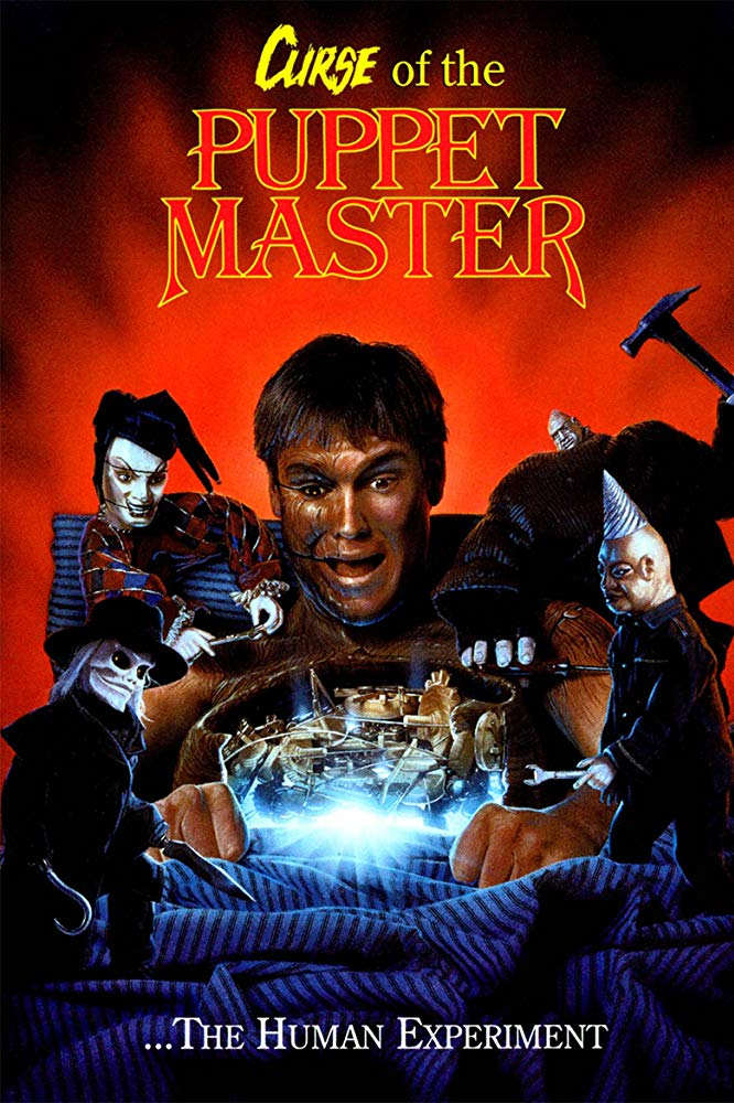 Curse of the Puppet Master Poster - PUPPET MASTER 6 Now Streaming on Free DREAD App
